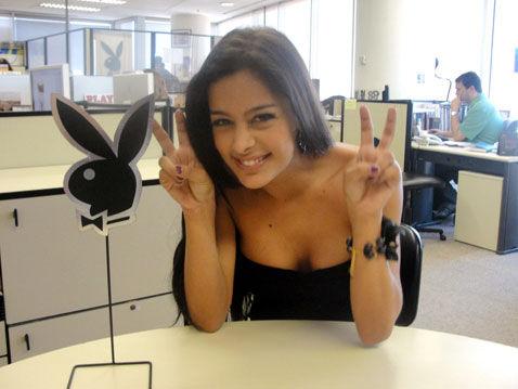 Larissa Riquelme chez Playboy !