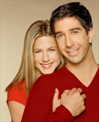 Friends Ross et Rachel