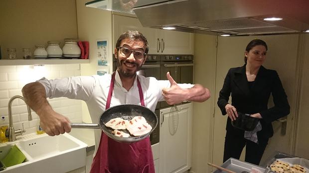Mon premier cours de cuisine au rendez-vous Roc de Calon