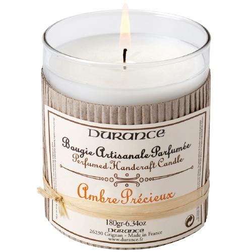 Bougie-Ambre-Précieux-Durance