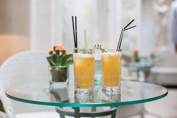 Un Cocktail Au Bristol Pour La Bonne Cause Avec Ninoo et Estelle Lefebure