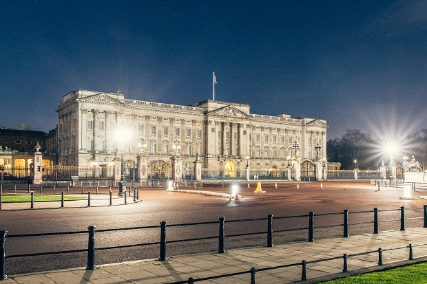 Buckingham Palace Desert in London