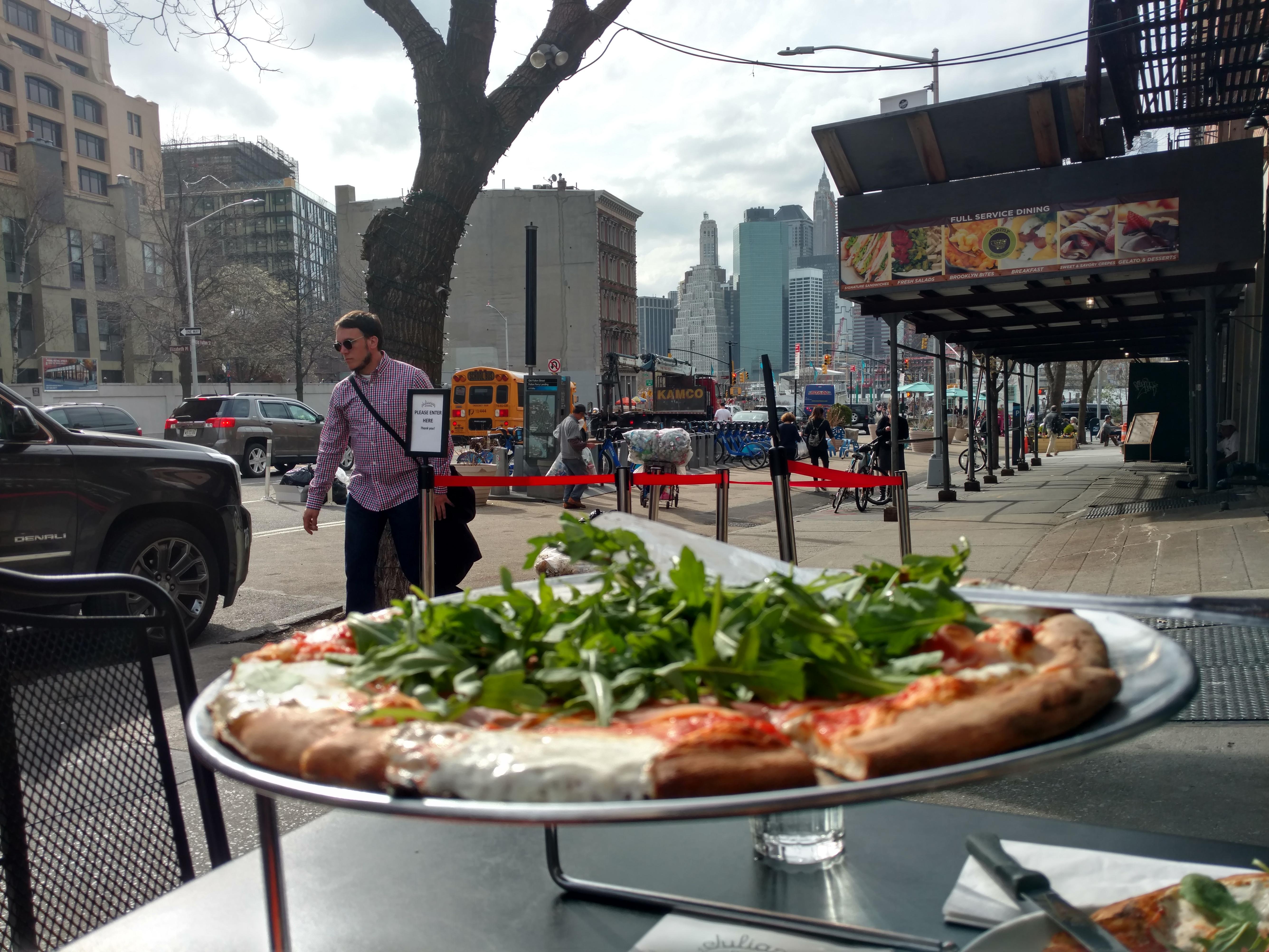 Julianna's meilleure pizza new york