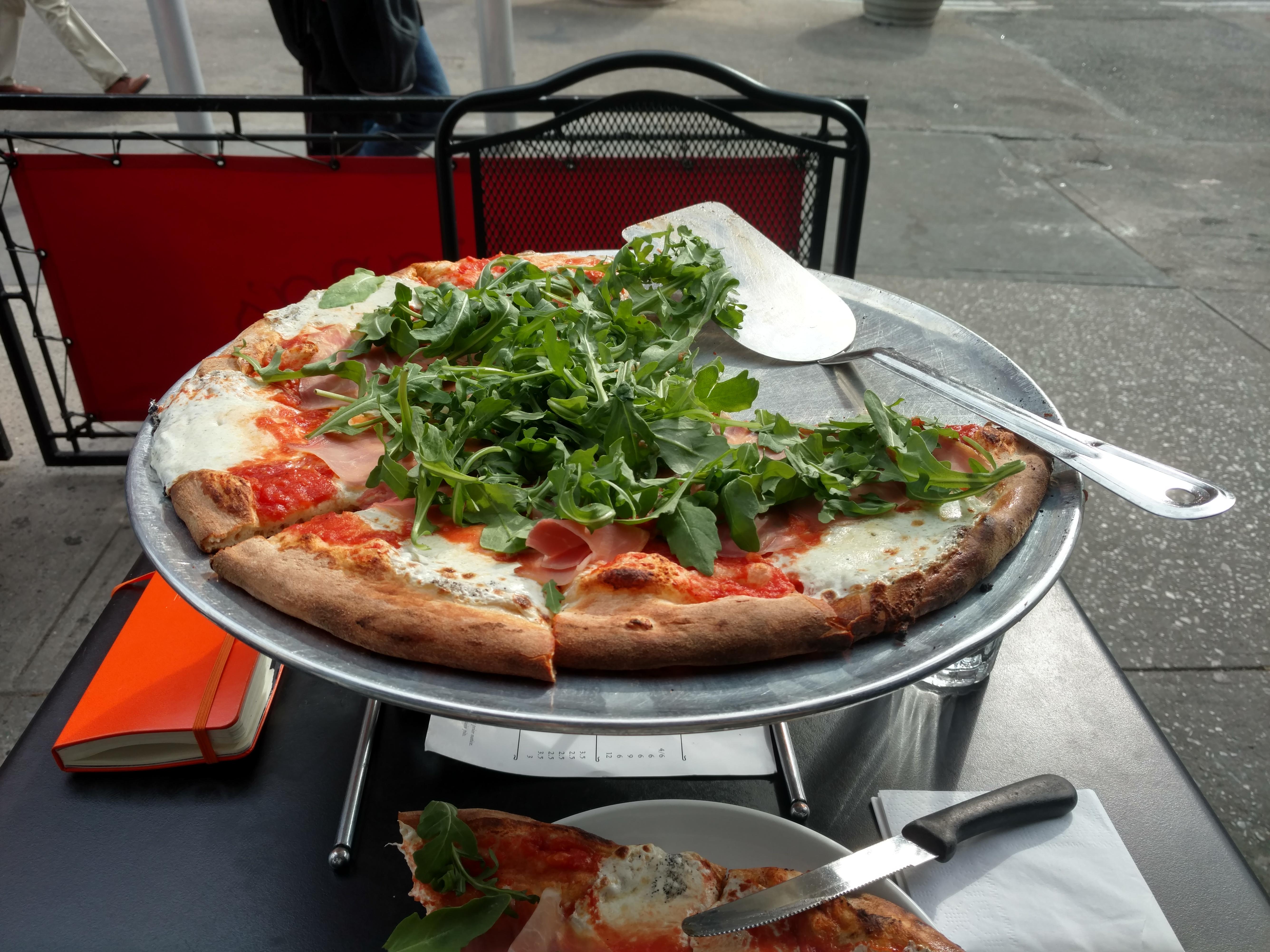 Meilleure pizza NYC Julianna's
