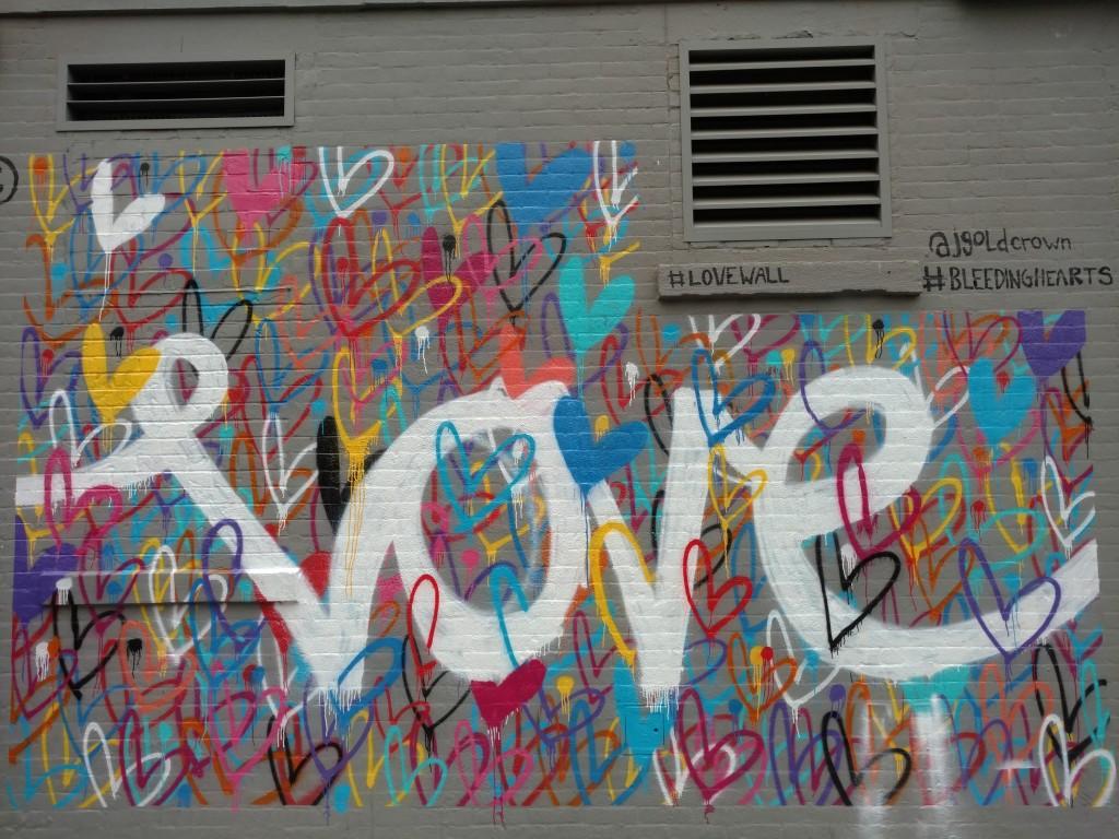 Le love vu par le street artisan HEKTAD