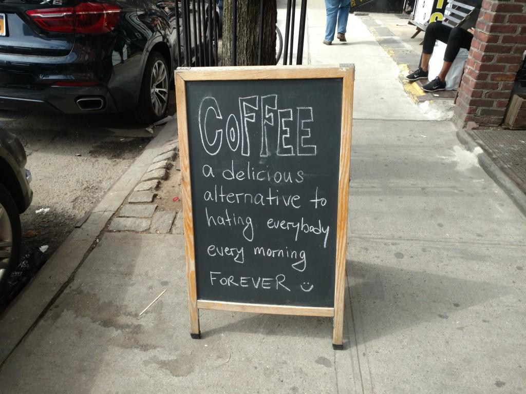 marketing café New York