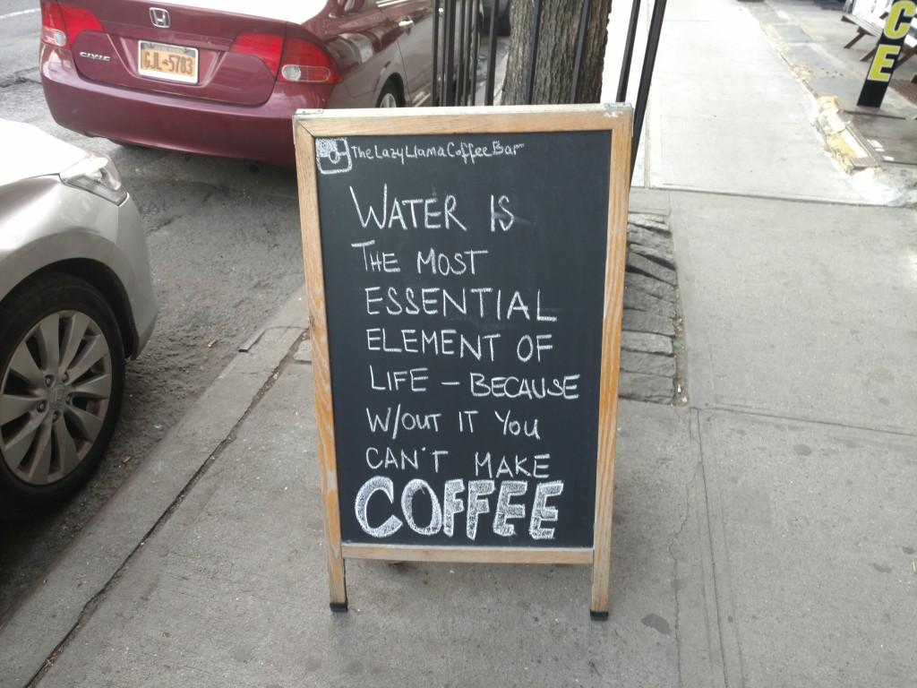 Café marketing NYC