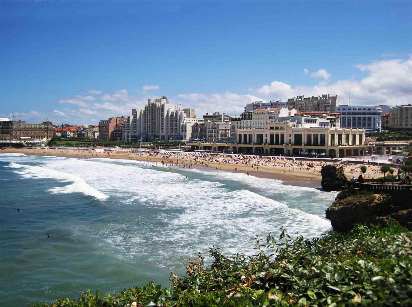 Le baccara casino biarritz