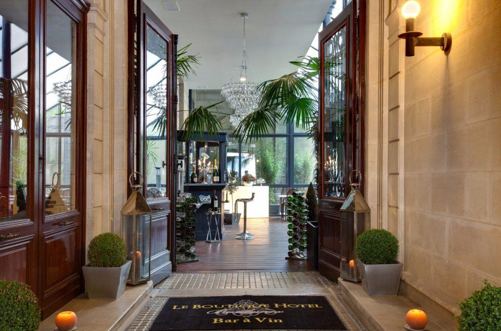 Boutique hôtel Bordeaux entrée