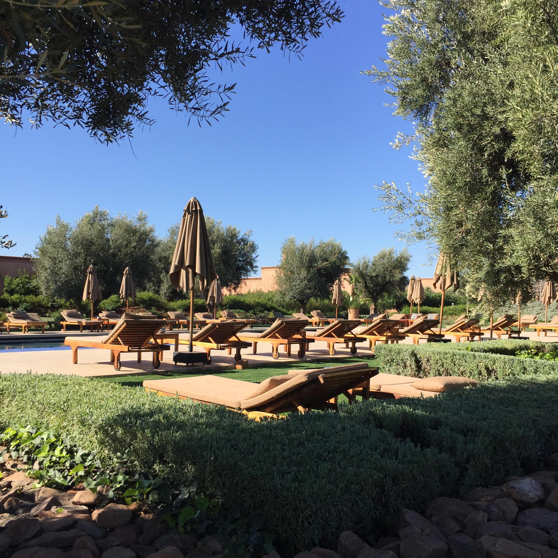 Piscine The Source Marrakech