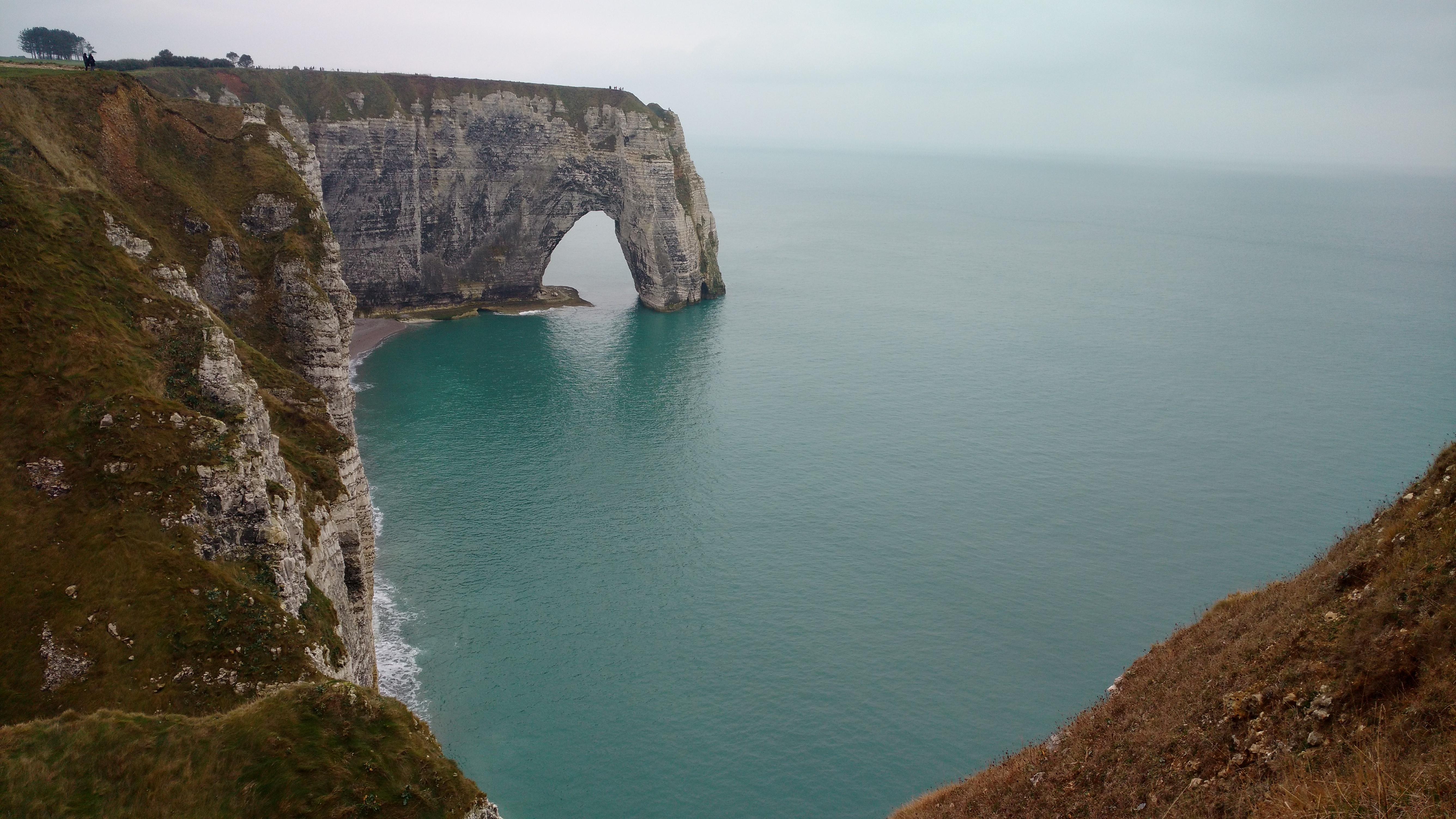 Plage Etretat Normandie