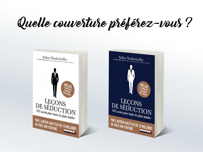 Leçons de Séduction : Votez Pour la Couverture du Livre