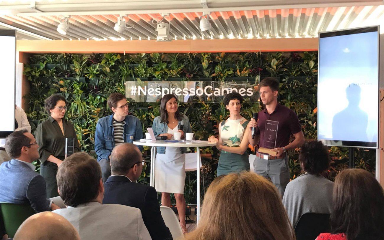 Retour à Cannes : Nespresso Talents 2017