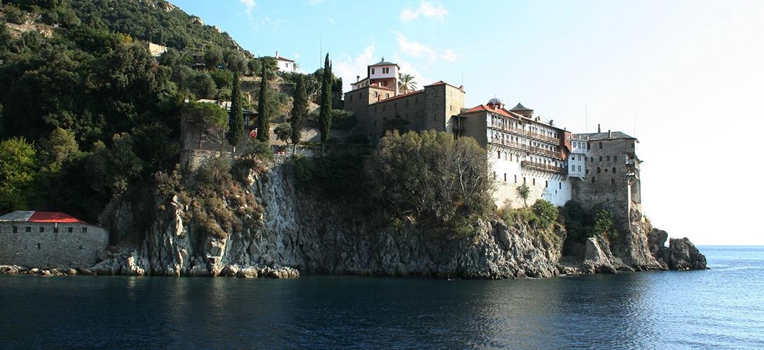 mont athos monastère