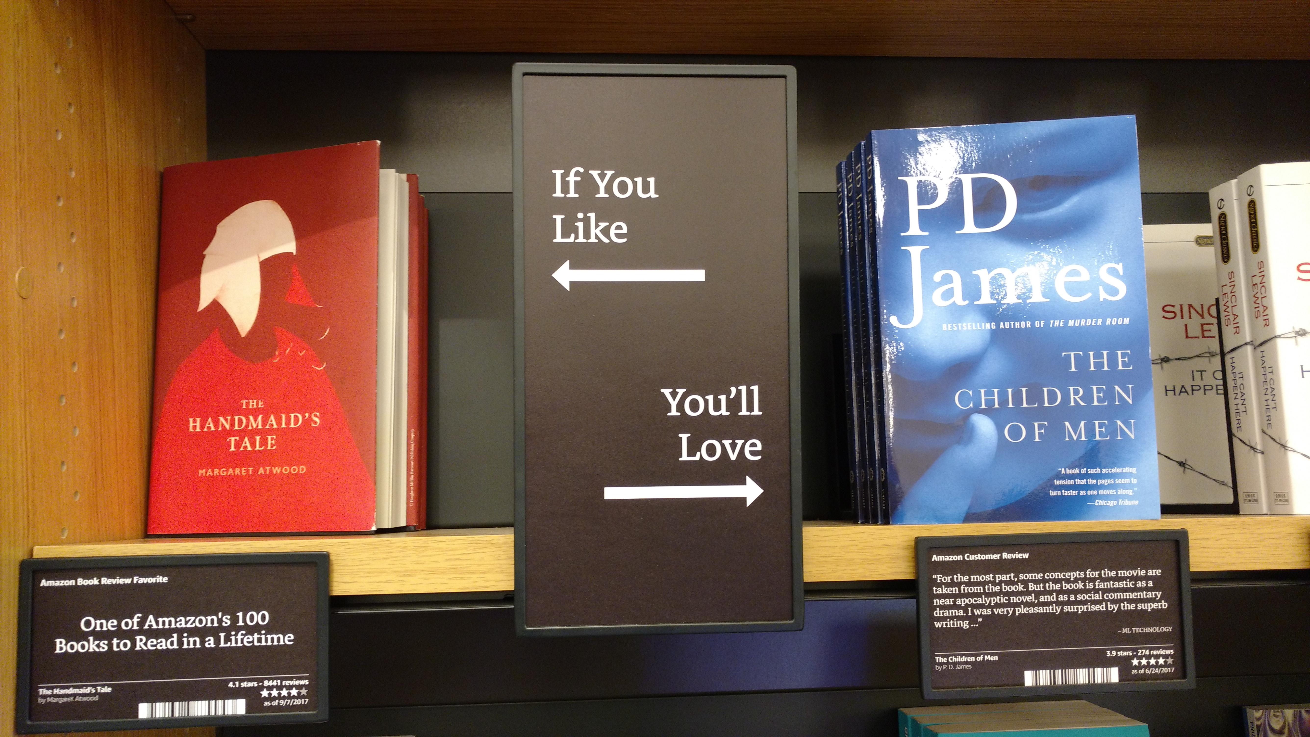 Librairie physique Amazon Books New York