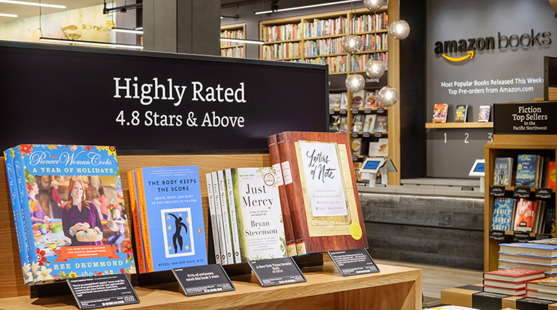 Amazon Books : La Librairie Physique d'Amazon à New York