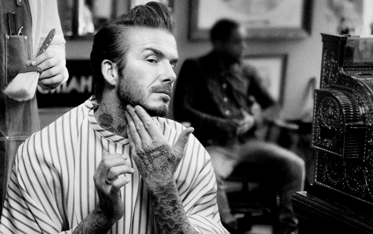 House 99 : David Beckham Présente Sa Marque De Grooming !