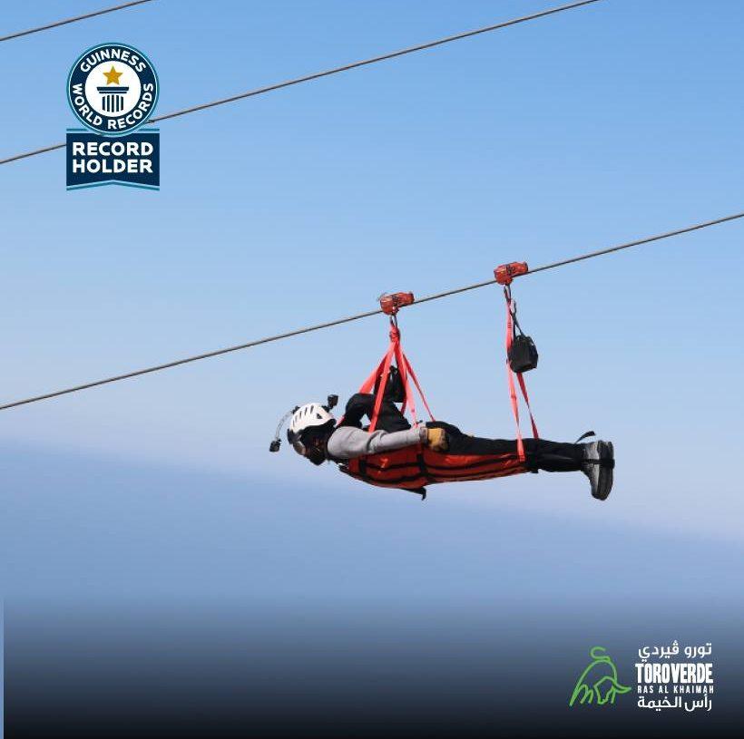La Plus Longue Tyrolienne Au Monde Ouvre à Jebel Jais