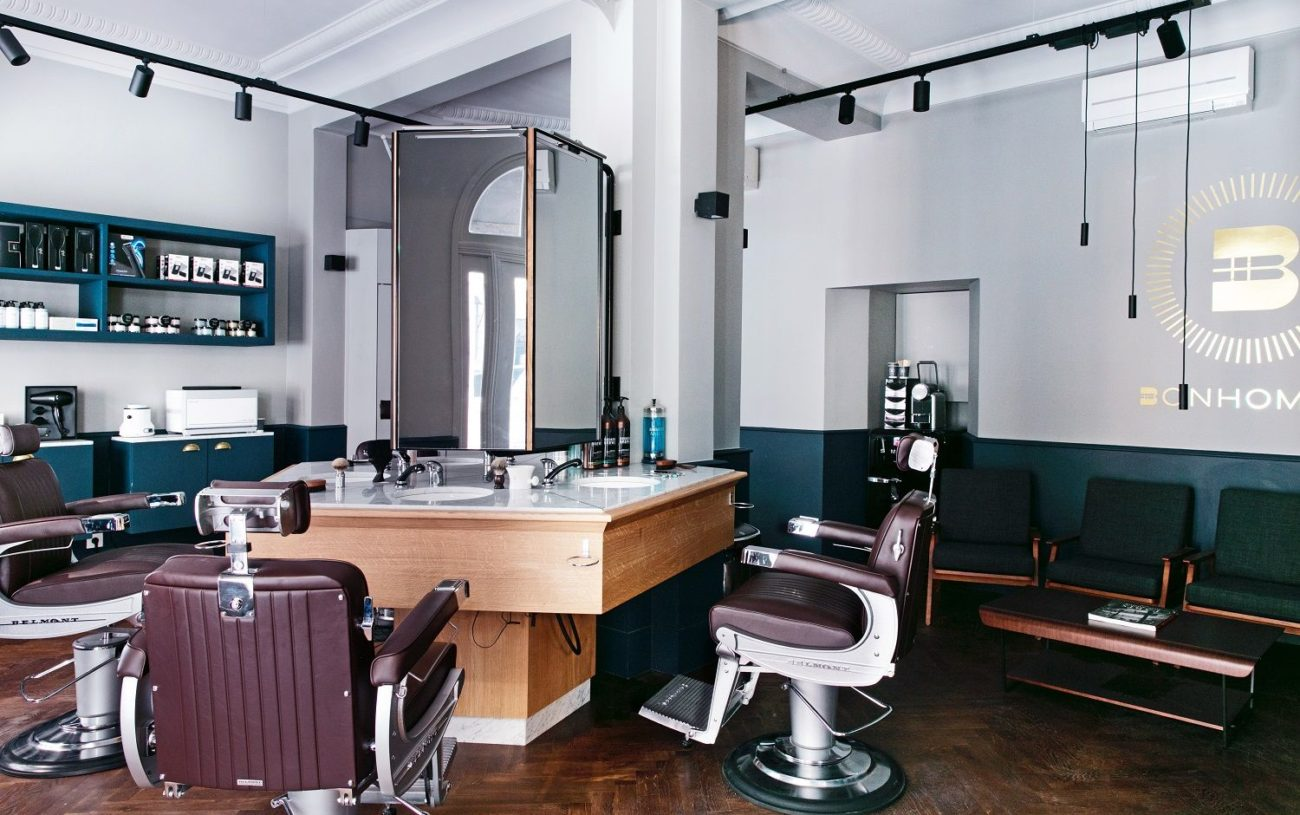 L'Hôtel Mythique «Le Mathis» Accueille Le Salon de Barbier Bonhomme