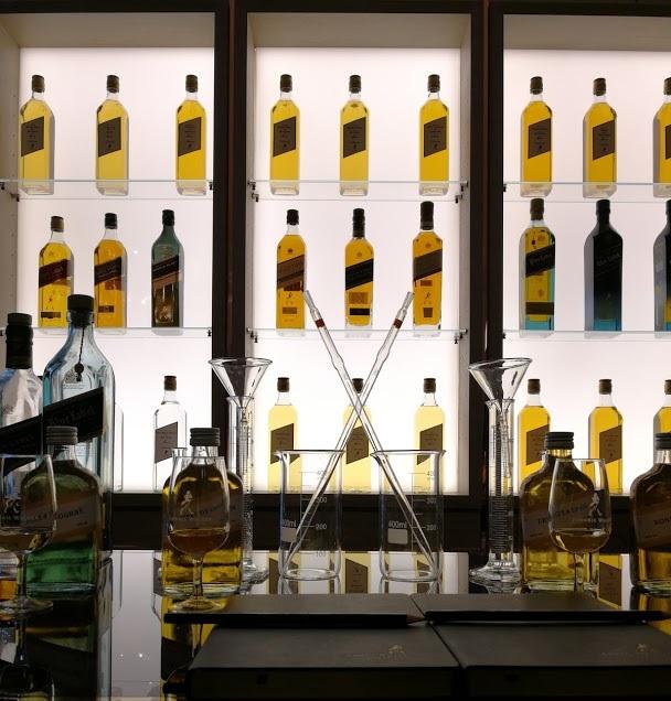 assemblage-de-whisky-johnnie-walker