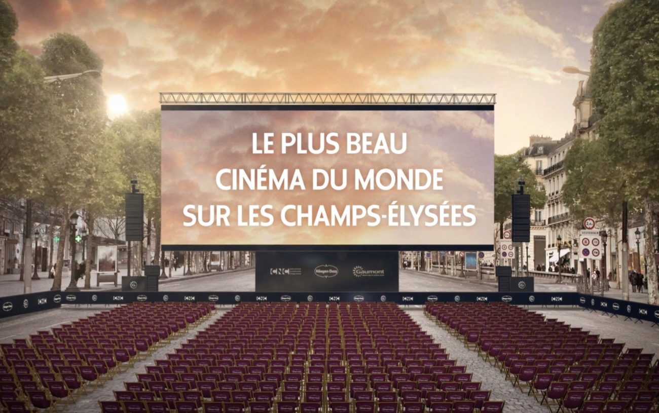Votre Séance de Cinéma Sur Les Champs Elysées le Dimanche 1er Juillet !