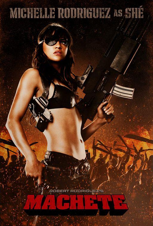 Le Machete du jour : Michelle Rodriguez vs Jessica Alba.