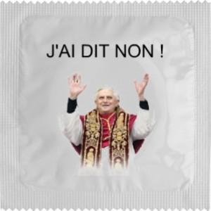 Le pape a dit non