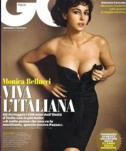 Monica Bellucci GQ Italia