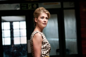 We want sex equality Rosamund Pike