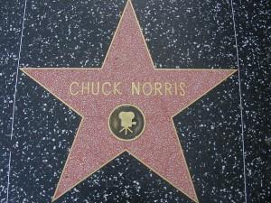 Chuck Norris est à Hollywood