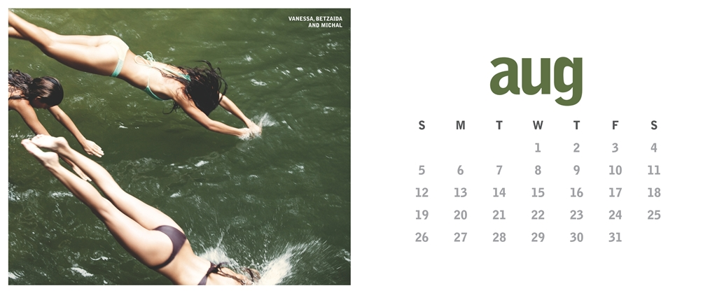 Miss Reef calendrier 2012 officiel