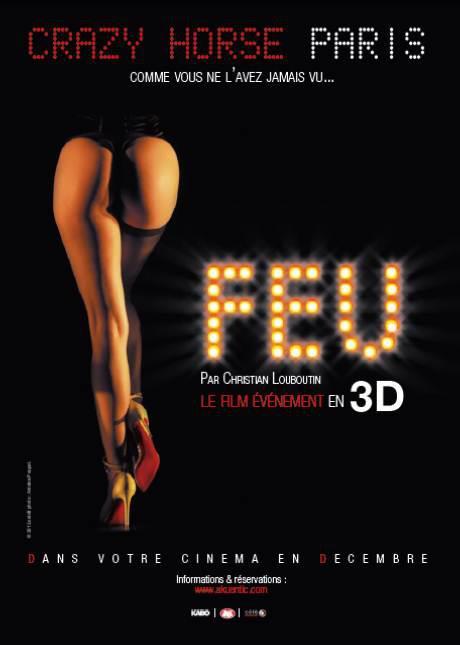 FEU : Crazy Horse Paris a son film, par Christian Louboutin