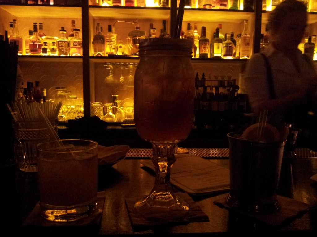 Les cocktails du speakeasy parisien Moonshiner