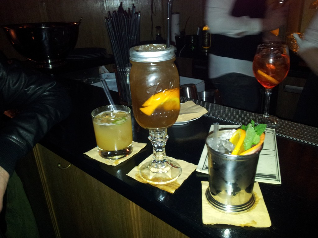 Les cocktails du Moonshiner, speakeasy à Paris