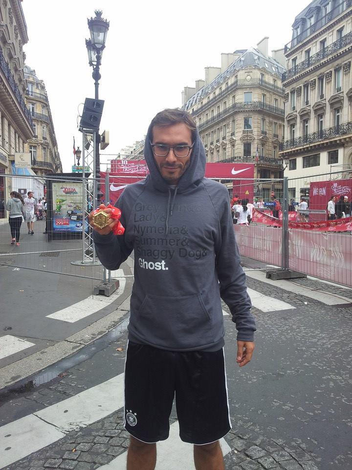 Selim Niederhoffer Direwolves 10KM PARIS