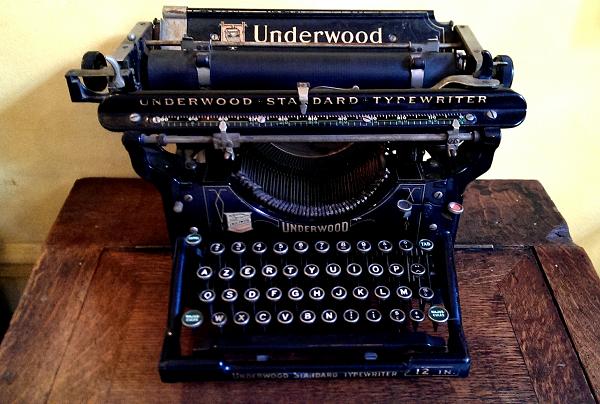 Remington-machine-écrire-musée-du-thé