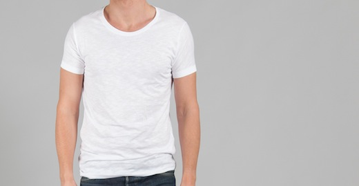 tee-shirt-bgly-blanc-homme-stylé