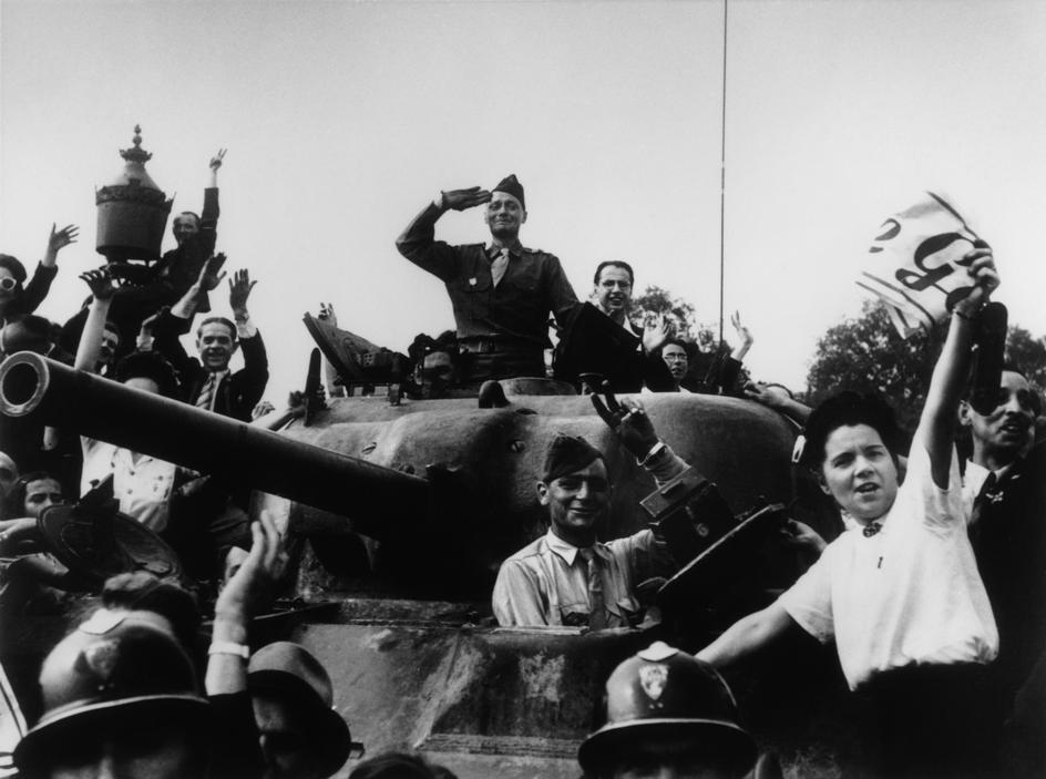 Robert Capa : Libération de Paris