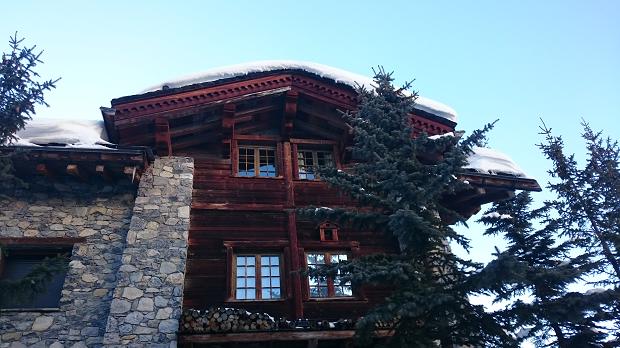 Un châlet à Val d'Isère