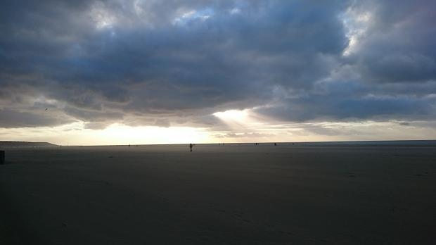 Tempête de sable - Deauville