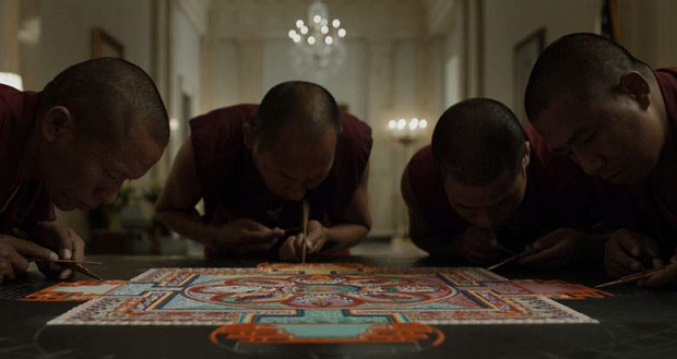 House of Cards Tibet Monks
