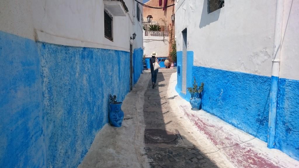 Rabat les rues