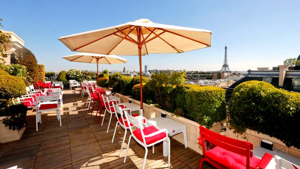 5 Terrasses et Rooftops Pour Bien Finir L'Eté à Paris