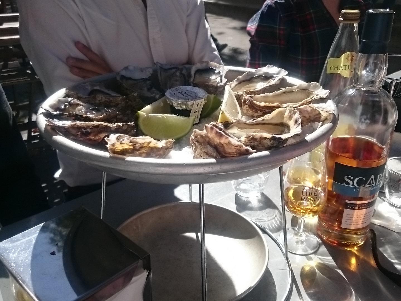 Scapa Skiren huîtres