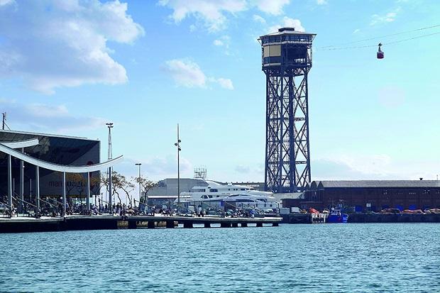 Tour de haute mer Barcelone