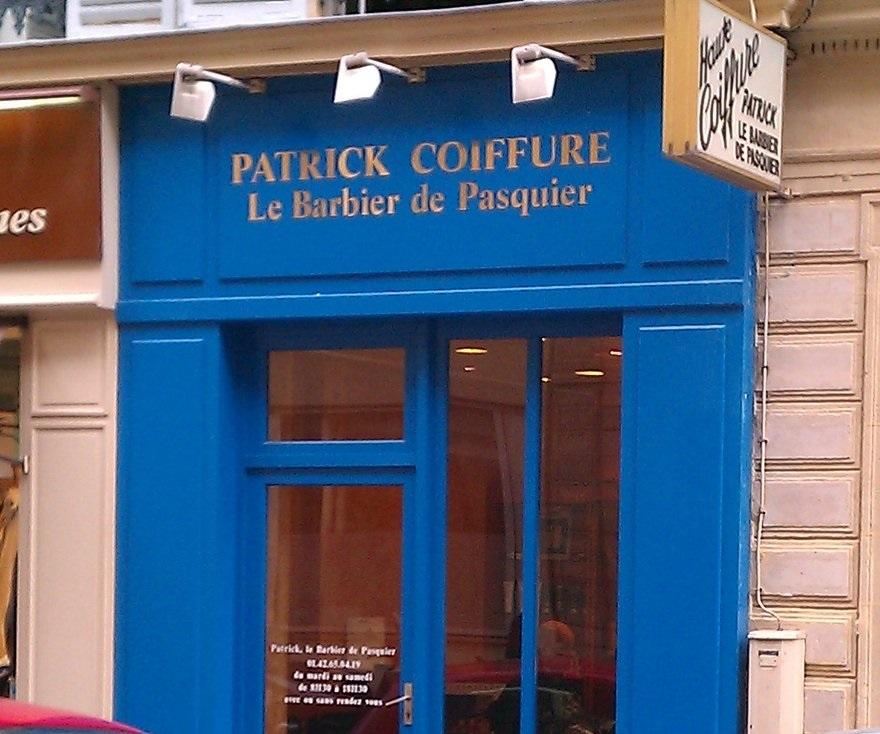 Meilleur Barbier Paris Patrick