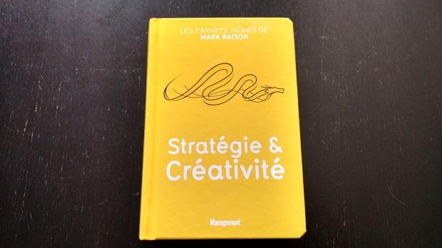 Stratégie et créativité couverture Mark Raison
