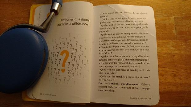 Stratégie et créativité les bonnes questions