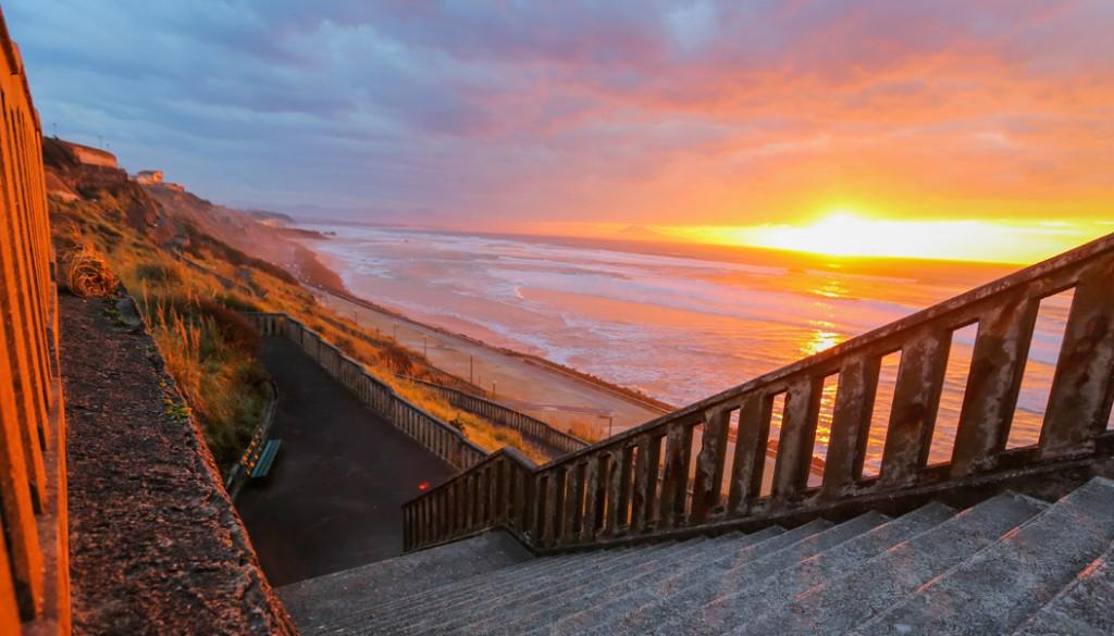 Biarritz surf Sud Ouest