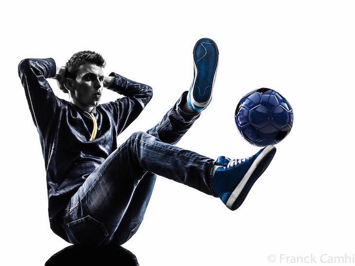 Corentin Baron Freestyler footballer